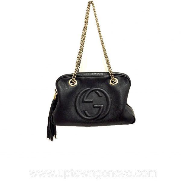 cci Soho shoulder bag in black leather